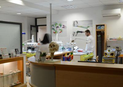 Panoramica del laboratorio ortodontico